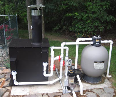Warm Water Solutions Large Wood Fired Pool Heater Page